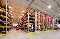 Warehouse Storage: Racking and Shelving