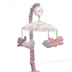 Nurture Garden District Musical Mobile, Pink