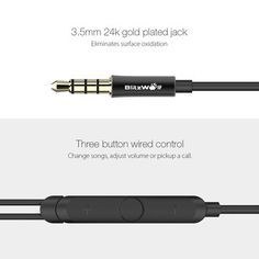 BlitzWolf® BW-VOX1 Hybrid Drivers Dual Double Drivers Earphone Headphone With Mic Sale - Banggood.com