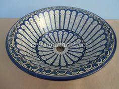 Lavabos de cerámica y de bronce de Marruecos | Artesanía árabe y decoración marroquí