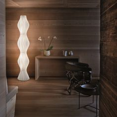Vapor Floor Light by Studio Italia Design. Get it at LightForm.ca