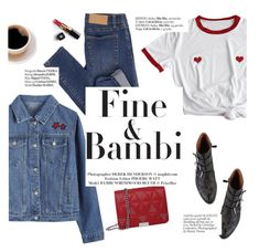 """""""Fine&bambi"""" by punnky ❤ liked on Polyvore featuring Cheap Monday, Chloé, Haute Hippie and Chanel"""