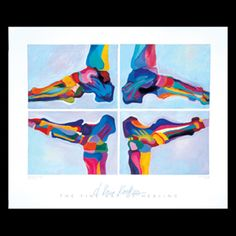 Med/ART™ Neat Feet - Anatomy Posters - Decorative Medical Gift Ideas - Gifts for Doctors - Medical Decorations