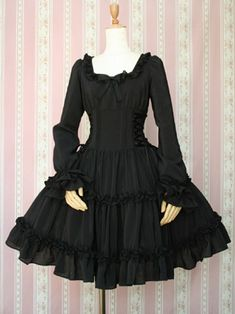 Victorian Maiden / One Piece / Lace Up Doll Dress