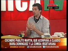 Pablito Martín en Crónica TV con Anabela Ascar