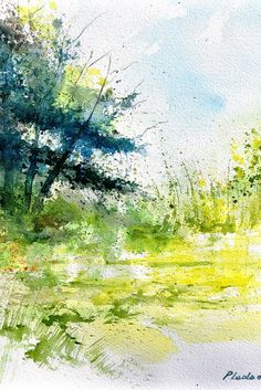 watercolor | by Belgian artist Pol Ledent