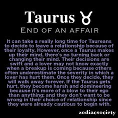 taurus and love