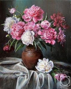 No title Flower Painting Canvas, Oil Painting Flowers, Watercolor Flowers, Painting & Drawing, Flower Vases, Flower Art, Flower Arrangements, Beautiful Bouquet Of Flowers, Amazing Flowers