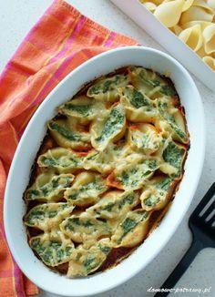 Ricotta, Quiche, Spaghetti, Pierogi, Food And Drink, Pasta, Impreza, Breakfast, Recipes