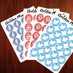 Social Media Icons PLANNER STICKERS Everyday Beauty Cleaning icons Erin Condren, Filofax , Kiki K, Plum Paper, Carpe Diem and other planner