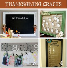 Count Your Blessings Chalk Board -  our family list of things we're thankful for. We each wrote some things we recognize as our blessings.
