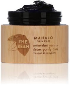 MAHALO Skincare THE BEAN antioxidant mask to detox • purify • tone $80.00 | Safe & Chic