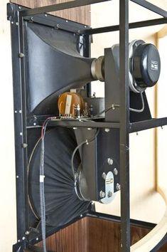 Klicken zum Schliessen High End Speakers, High End Audio, Built In Speakers, Horn Speakers, Best Speakers, Sound Stage, Speaker Design, Hifi Audio, Speaker System