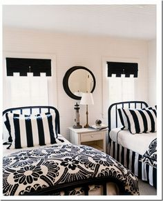 cute black and white rooms brookeberry