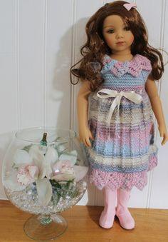 Tuto robe pour poupée Maru (peut faire aux AG ou Gotz, en la faisant moins longue)