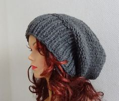 Sacking Winter Hat  Autumn Accessories  Slouchy Beanie by Ifonka, $28.00