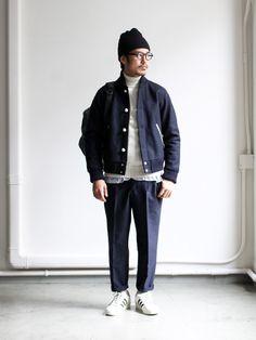 nanamica WINDSTOPPER Varsity Jacket