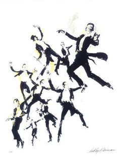 fred astaire hirschfeld #fred astaire