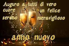 Buon anno nuovo Nouvel An 2018, Italian Words, Quotes About New Year, New Year 2018, New Year Wishes, Merry Christmas And Happy New Year, Christmas Quotes, Alcoholic Drinks, Genere