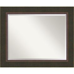 Title: Milano Mirror - Large</li><li>Frame: Dark Bronze with Stepped Lip 3.5-inch Wood