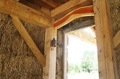 Straw Bale and Timber Frame House Plans