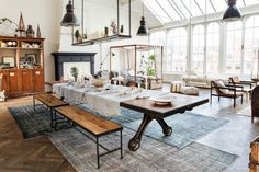 "Such a great Inspiration this is. Found These beautiful Pictures via ""The Loft."" The Loft is a periodically recurring co. The Loft, Modern Interior Design, Interior Styling, Design Interiors, Loft Stil, Estilo Interior, Casa Loft, Sweet Home, Industrial House"