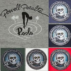 Powell #peralta pool ripper #skateboard tee - t #shirt  - black, navy, grey or re,  View more on the LINK: http://www.zeppy.io/product/gb/2/371056186245/