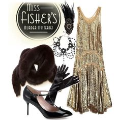 """Phryne 1 - Miss Fisher's Murder Mysteries"" by b-scottyer on Polyvore"