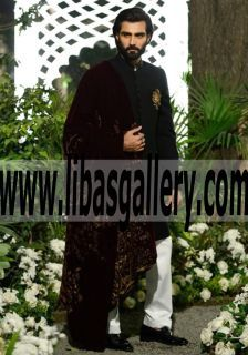 Elan has created the perfect dress for the traditional Groom and Groomsmen at Bridal Couture Palai Indochine 2016 2017 There's a huge trend gaining popularity in weddings sherwani for wedding and bridal party traditional sherwani groom sherwani turbans khussa, kurta #UK #USA #Canada #Australia #Saudi #Arabia #Bahrain #Kuwait #Norway #Sweden #NewZealand #Austria #Switzerland #Germany #Denmark #France #Ireland #Mauritius and #Netherlands the most fashionable grooms at www.libasgallery.com