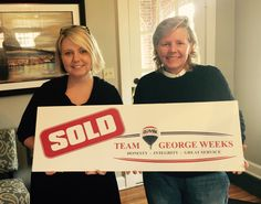 Congratulations to Debby R. on the sale of your house with Team George Weeks! #sold #teamgeorgeweeks
