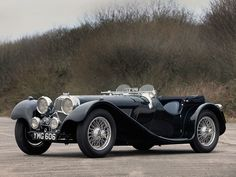 1936 Jaguar SS100 2½-litre Roadster