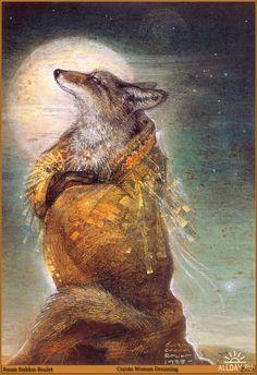 Shaman/Coyote Woman Dreaming