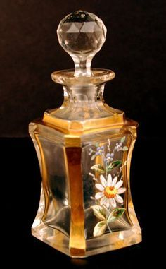 the-rouge-rose2u: Antique Nineteenth Century French Glass Scent Bottle