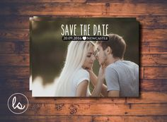 Simple Landscape Photo Save the Date Invitation ~ DIY PRINTABLE ~ Professional Printing with envelopes and postage included by LoveStoryInvitations on Etsy https://www.etsy.com/listing/250734918/simple-landscape-photo-save-the-date