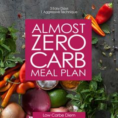 almost zero meal plan
