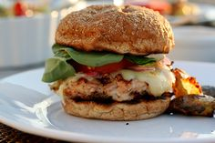 Chipotle Turkey Burger and more of the best ground turkey burger recipes on MyNaturalFamily.com #turkey #recipe