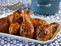 Receta de Pollo Glaseado al Limón con Salsa Picante