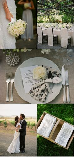 Love the place setting and other photos