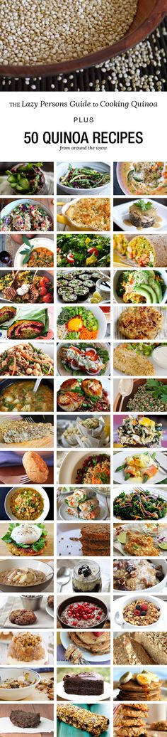 PLUS 50 quinoa recipes for breakfast, lunch & dinner, including salads, fish, meat and chocolate quinoa recipes!