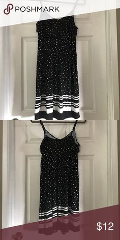 272b8e306 Cute black and white polka for dress With ruffles on top Elle Dresses  Ruffles, Two