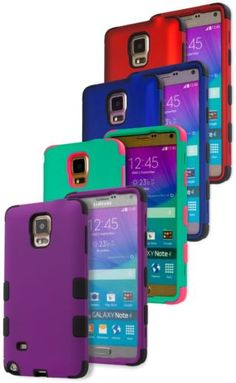 Samsung Galaxy Note 4 Caes. Variety of Colors to Match Your Personality!