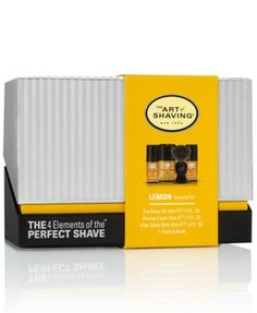 The Art of Shaving Mid-Size Kit - Lemon