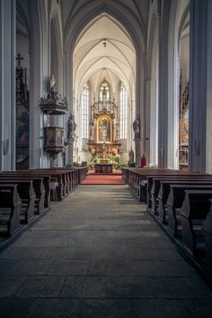 Church Interior, Public Domain, View Image, Free Images, Photos, Pictures, Grimm
