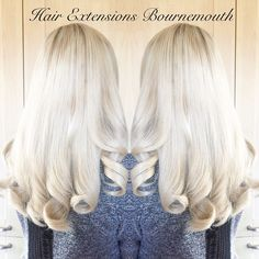 #BeautyWorks #HairExtensionsBournemouth #Balayage #Blonde #HairExtensions #MicroWeft #PlatinumBlonde