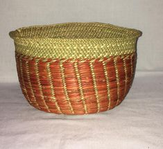 Set of 3 iringa baskets // Tanzania baskets // mail storage baskets// iringa baskets Painted Baskets, Baskets On Wall, Hanging Baskets, Woven Baskets, Mail Storage, Storage Baskets, Winter Bedroom Decor, African Art Paintings, Basket Crafts