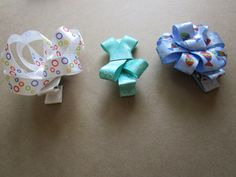 Bubbles and Fish Hair Clips by missdorothys on Etsy