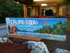 Tiki Island Radio has arrived for a live broadcast. Aquarium, Paradise, Tours, Key, Island, Space, Live, Goldfish Bowl, Floor Space