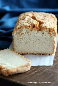 Lentil Bread Gluten free Yeast-free Vegan Sandwich Bread Recipe - Vegan Richa