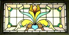 victorian stained glass window patterns