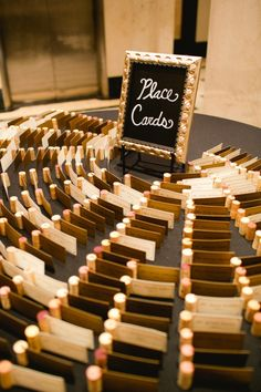 place cards held by wine corks photo by amanda watson photography